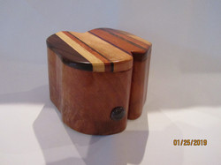 PB#225	Jewelry Organic-Shaped Box