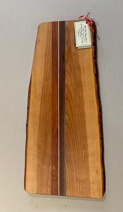 PB#361 Live Edge Cutting Board $90 5 layers
