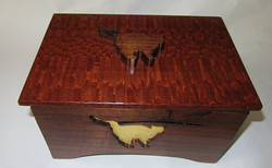 Cat Inlay Box