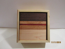 SOLD PB#273 4 Coasters in a Box (BC Holly