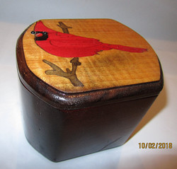 Cardnial Inlay Oblong Box