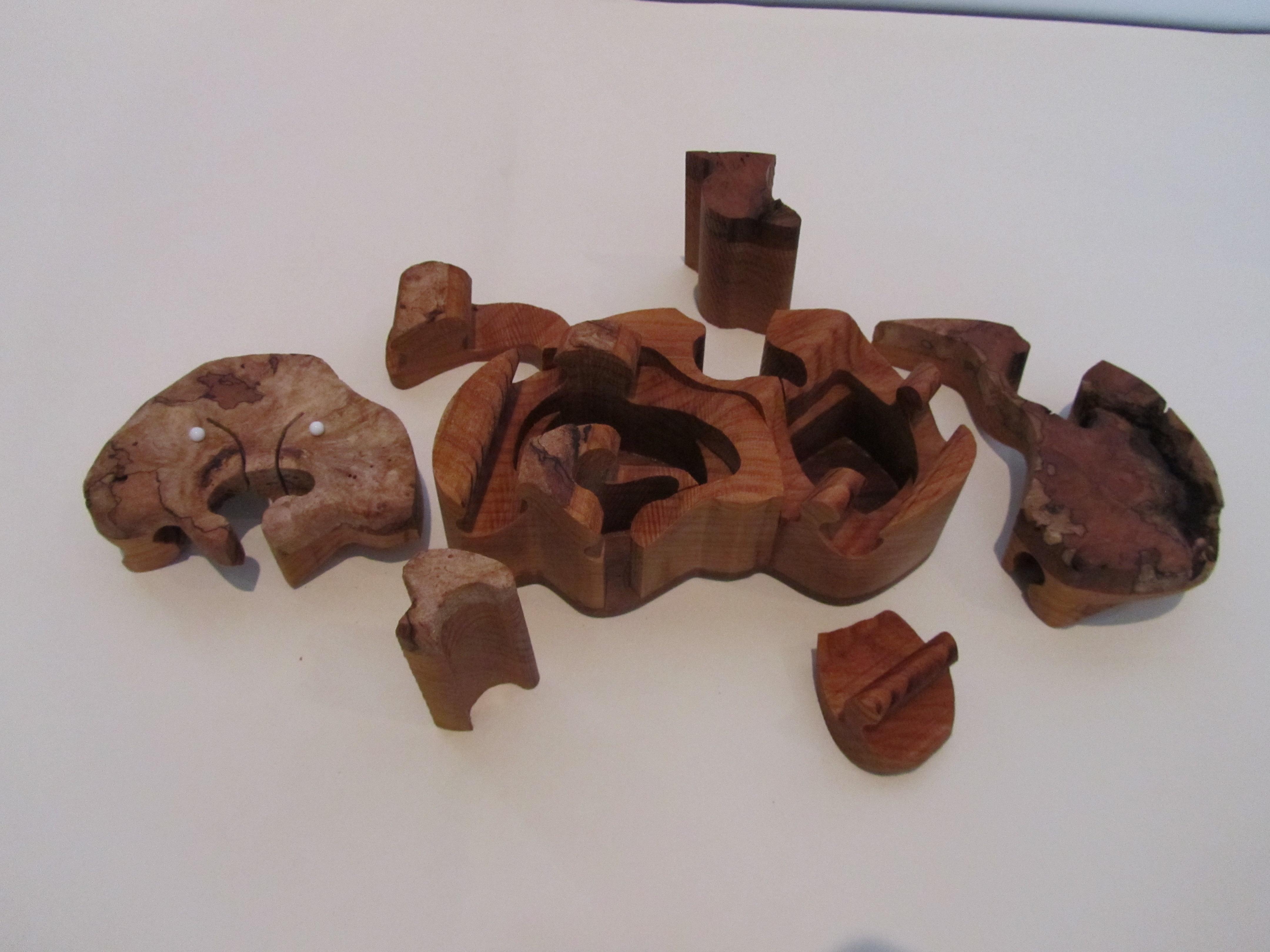 PB$291 Pet Puzzle Box $40
