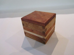 PB#294 Small Box Pedra Wood Lid $15