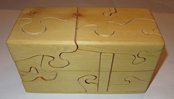 SOLD 20 pieces Puzzle Box