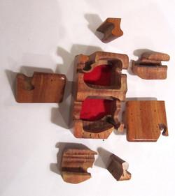 SOLD PB#223cPuzzle Box #4