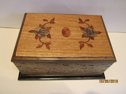 SOLD PB#266 French Marquetry