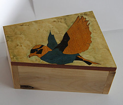 SOLD Inlay Bird #3