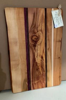 PB#375 Cutting Board 1 Live Edge $90 8 Layers