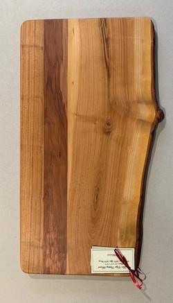 PB#363 Live Edge Cutting Board $90 3 layers
