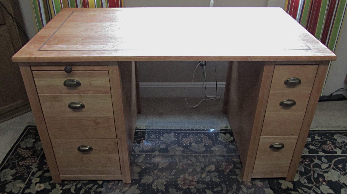 Barb's desk