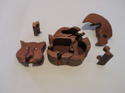 PB#290c Full Cat Puzzle Box $35