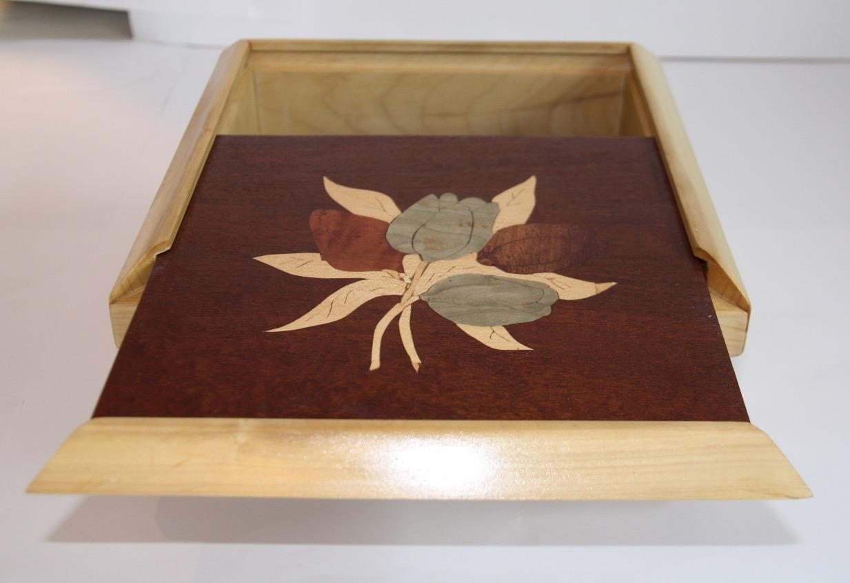PB#60 Tulip Inlay Box $80