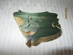 SOLD Frog Puzzle