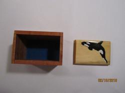 PB#231a Orca Whale Inlay #2 Box