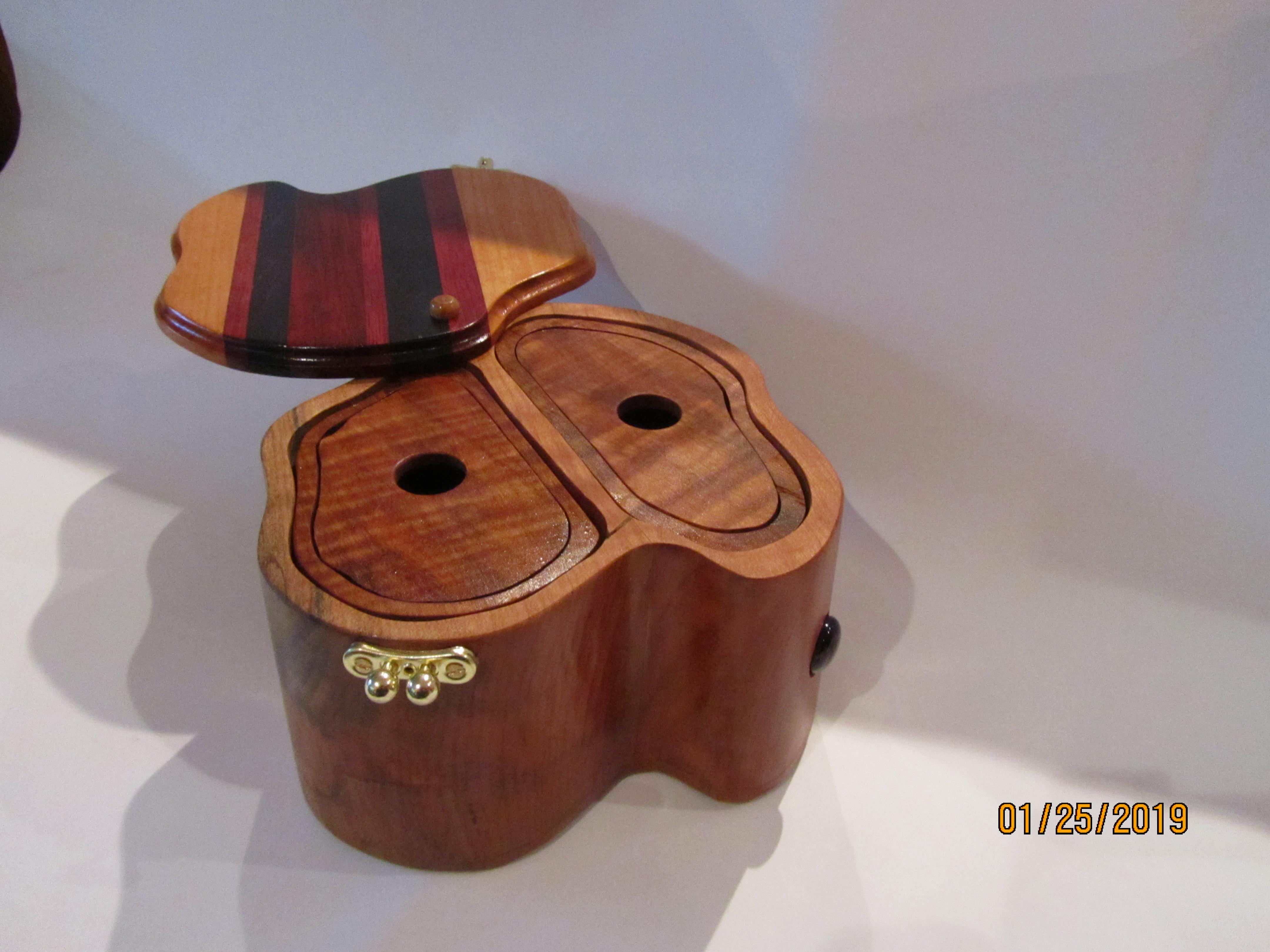 SOLD PB#226 Jewelry Organic Case