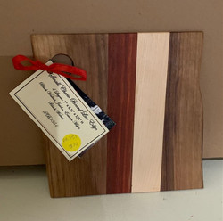Gifted PB#351 Small Cheese Board Live Edge $10