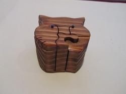 PB#289 Cat Face Puzzle Box $25