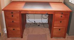 Pierre's desk