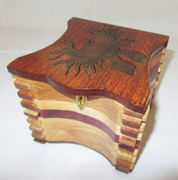Organic shape Inlay