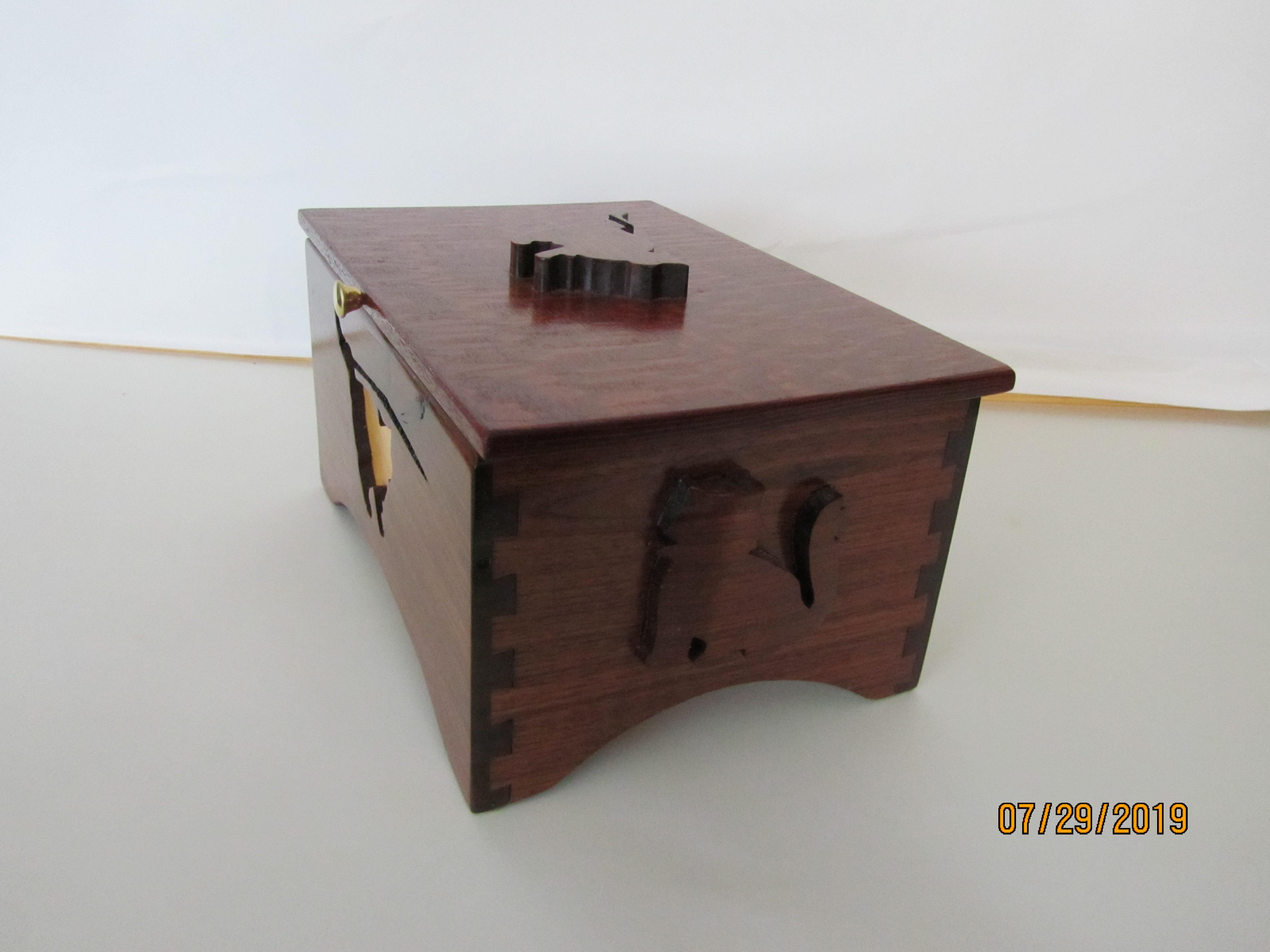 SOLD PB#183 $110 Cat Box