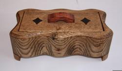 PB#56 Curvy-shape Band Saw Box $40