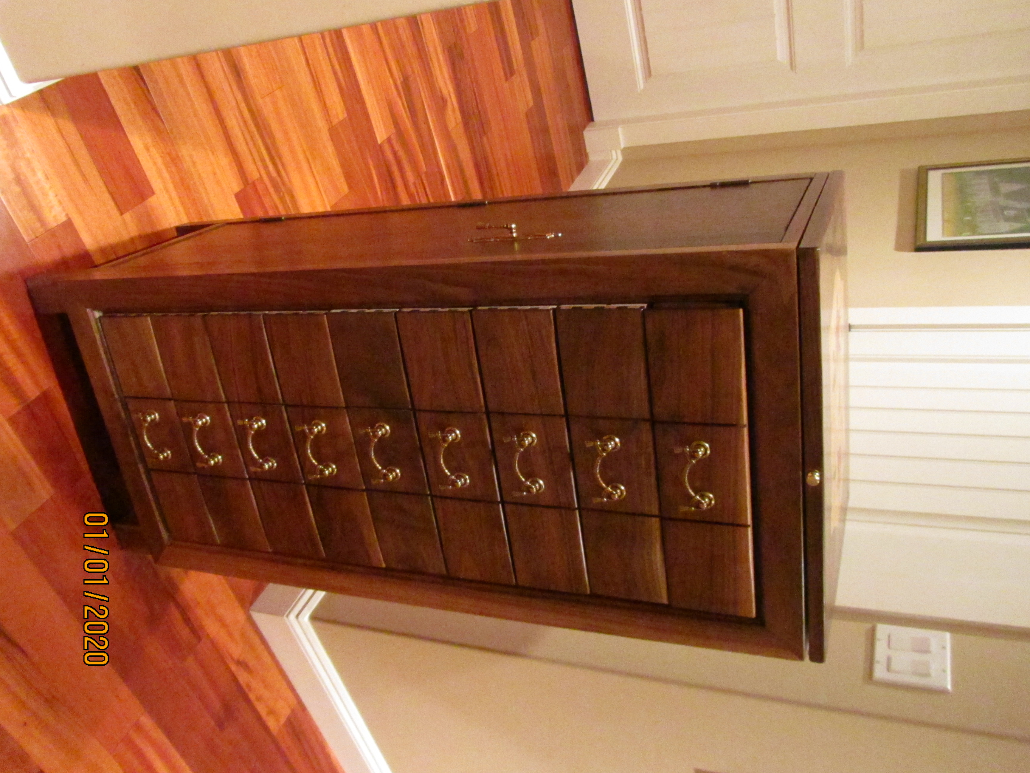 SOLD $2100 PB#281 Jewelry Armoire