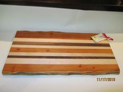 SOLD PB#276 Large Cutting Board Live Edge