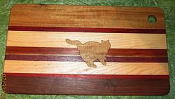 SOLD Cutting Board Cat