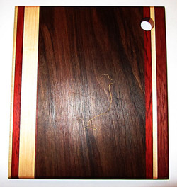 SOLD Cutting Board Chicken Walnut