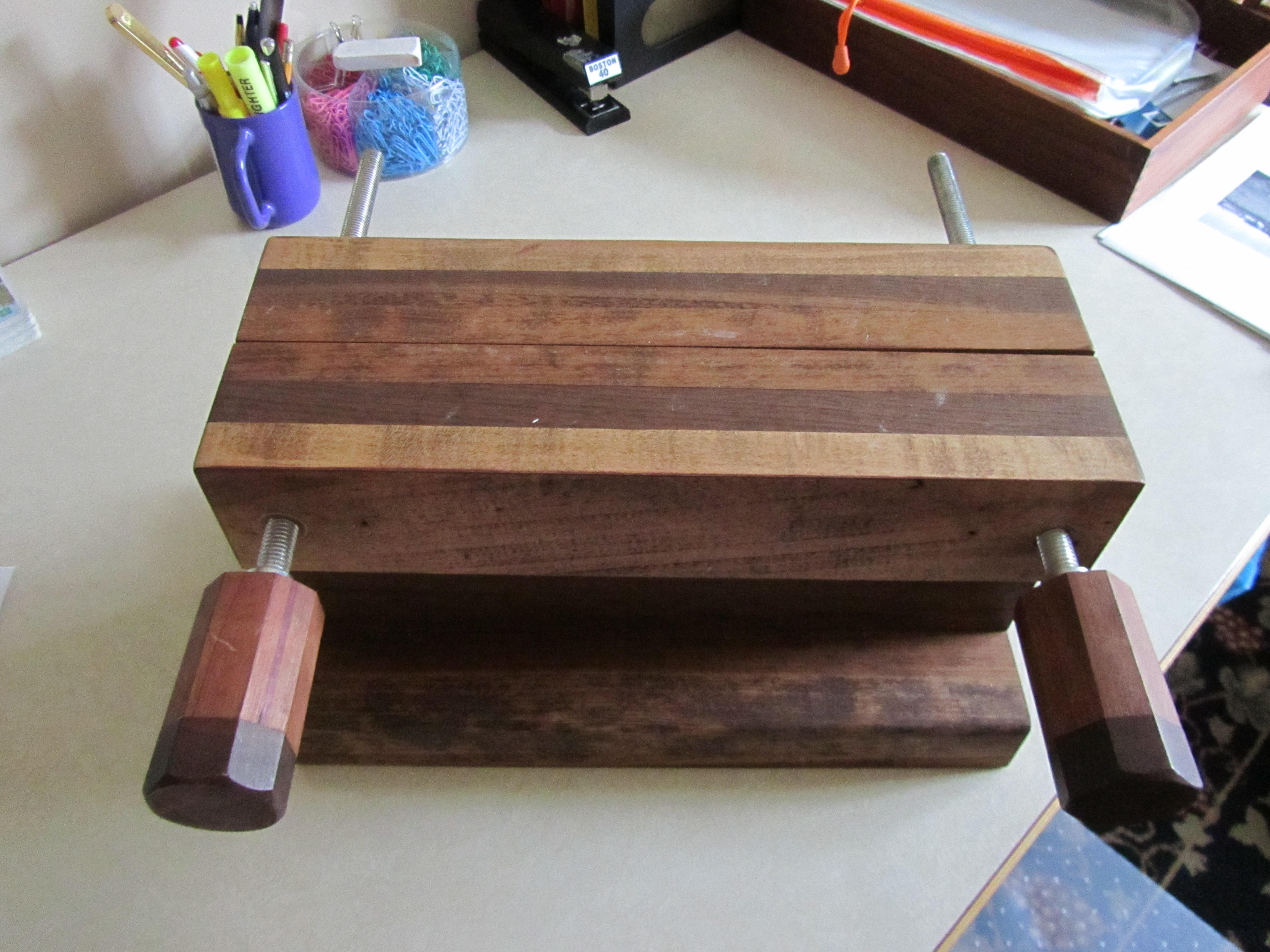 Book binding tool for Barb