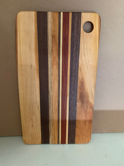 PB#405 Cutting Board $55 10 layers 2 Live Edges