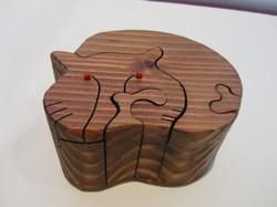 PB#290b Full Cat Puzzle Box $45