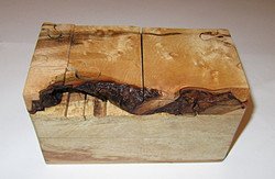 SOLD Live Edge Box Puzzle