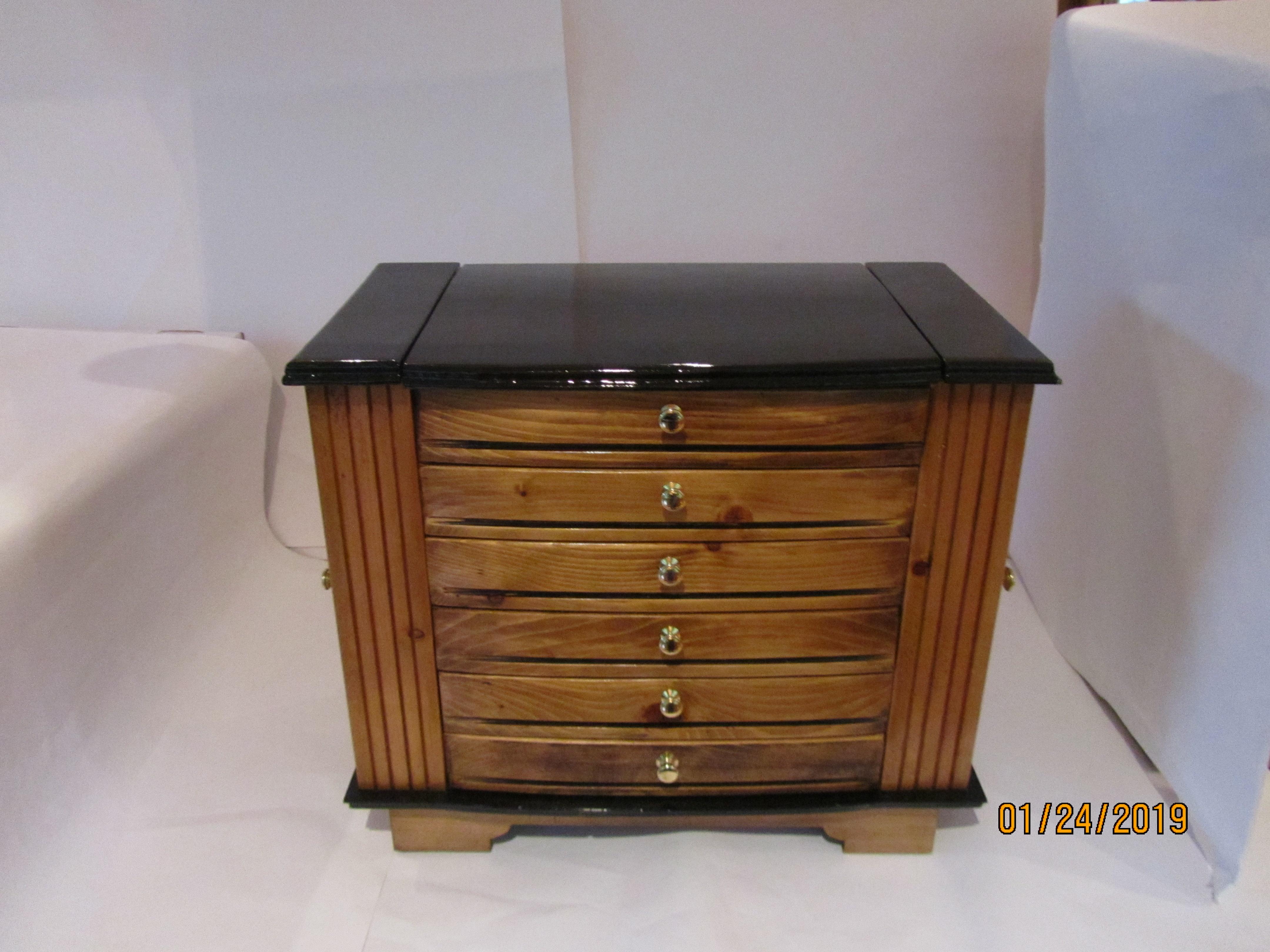PB#228 Large Jewelry Case