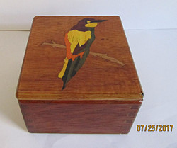 SOLD Bird Inlay #2