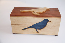 Blue Bird Tea Box