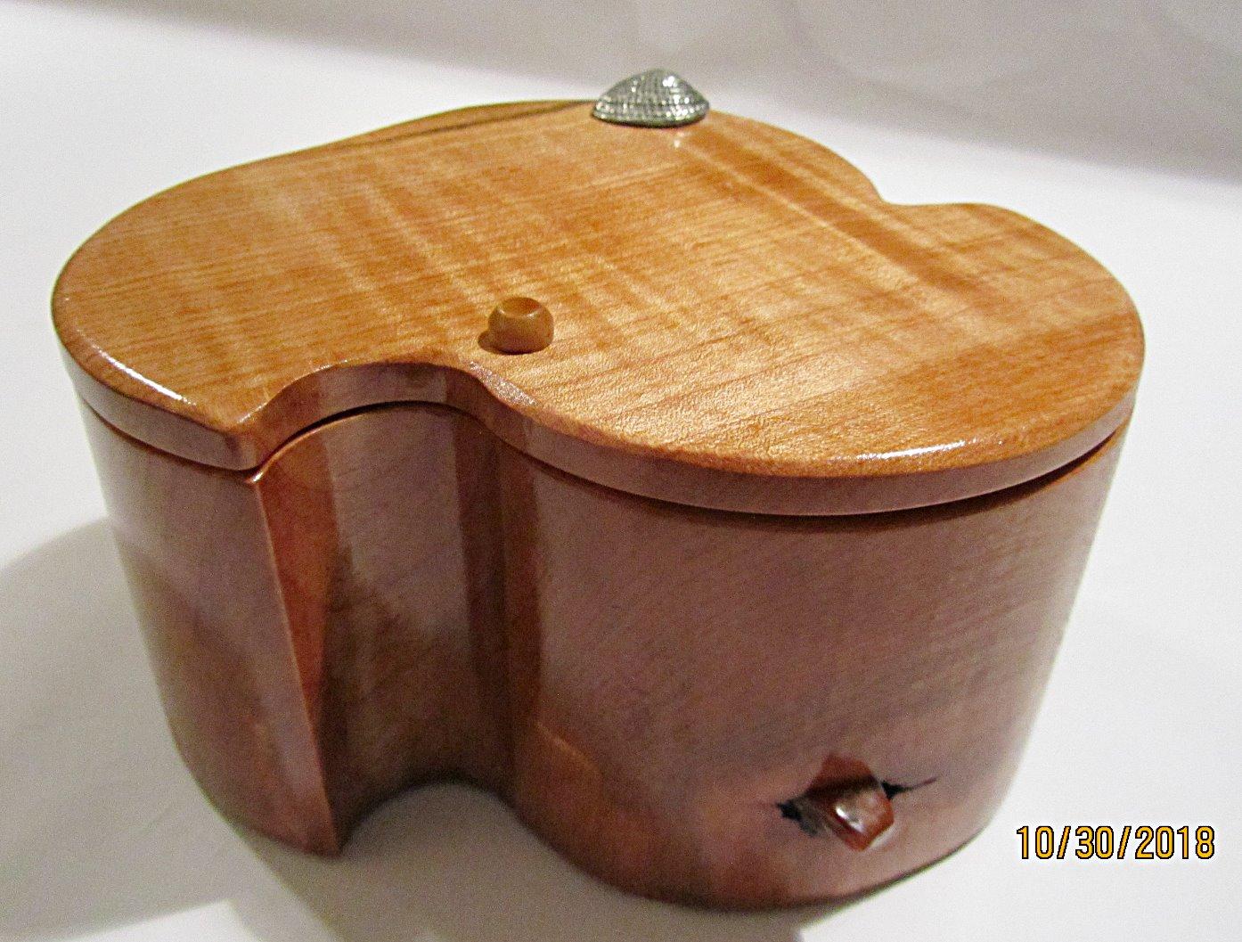 SOLD Organic-Shaped Box PB#207