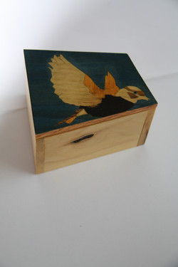 SOLD Bird Inlay Box #2