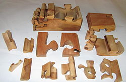 15 pieces Puzzle Box