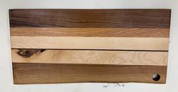 PB#353 Live Edge Cutting Board $130