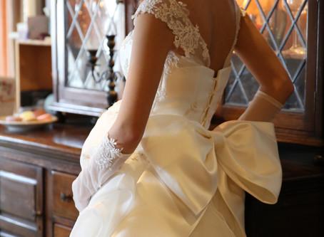 妊婦の花嫁様のために