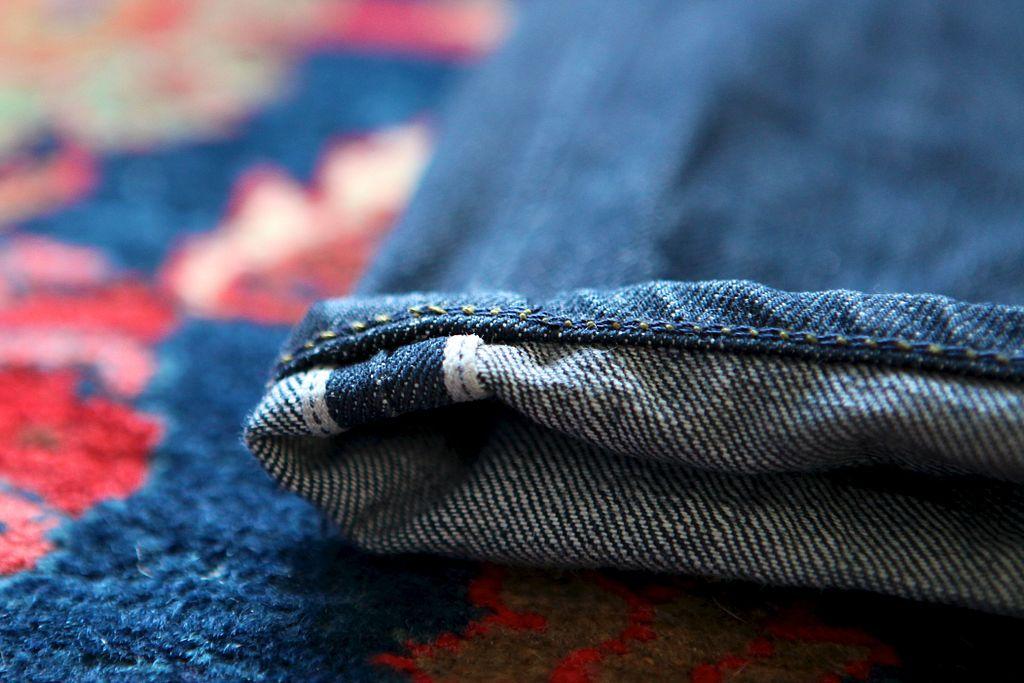 Premier jean en chanvre par l'atelier Tuffery