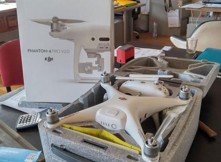 Le drone est arrivé