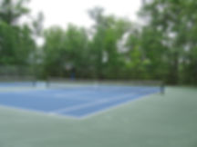 Pitlik and Wick, Pavement Maintenance, Tennis Court, Basketball Court, Asphalt Court,