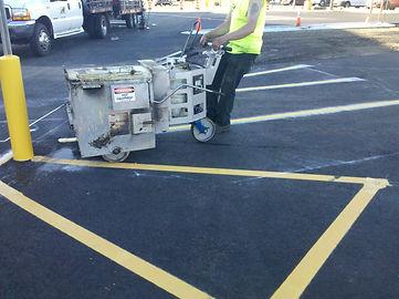 Pitlik and Wick Pavement Maintenance Thermoplastic Striping Parking Lots