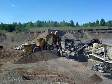 Pitlik & Wick Crushing Gravel Crusher Rock Aggregates