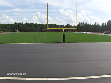 Pitlik and Wick, Asphalt Running Track, School Track, Football Field