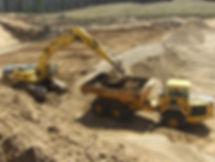 Pitlik & Wick Excavator Excavating Off Road Truck Earthwork