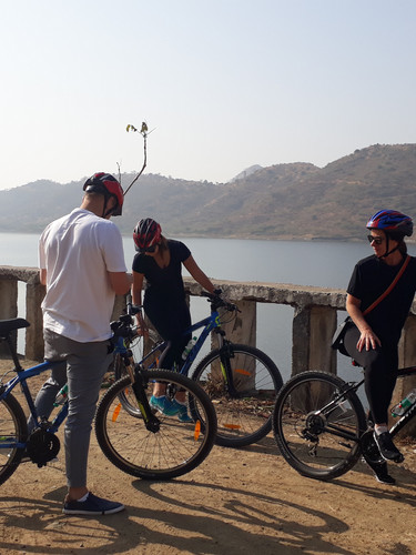 Cycling Around Blue Waters