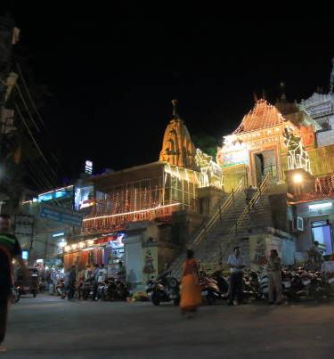 Udaipur Night Walk Followed by Dinner